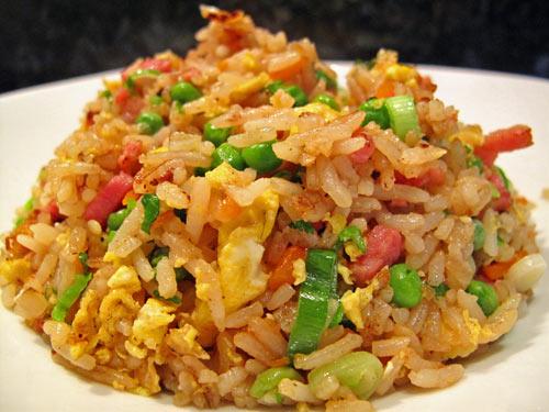 Riz cantonais lacath au four et au moulin - Quantite de riz par personne ...