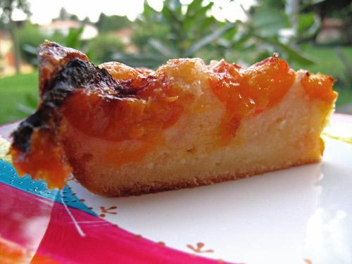 Recette gateau moelleux aux abricots frais