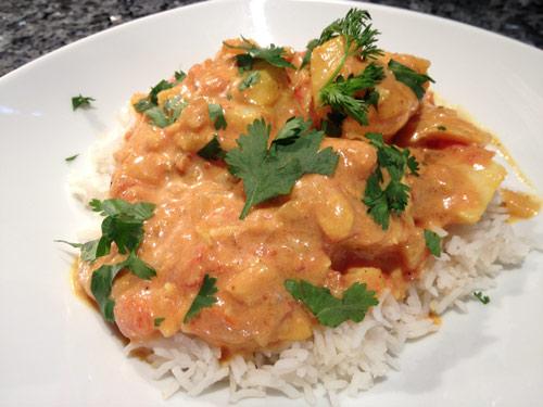 Dos de cabillaud au curry jaune tomate coco et citron - Cuisiner un dos de cabillaud ...