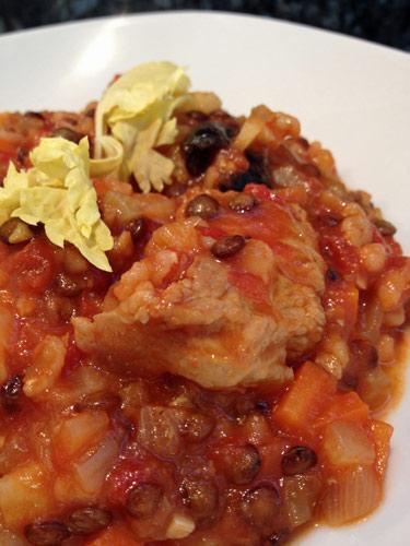 Le rata du dimanche casserole de veau au fenouil lentille et riz lacath au four et au moulin - Cuisiner le fenouil au four ...